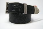Мужской ремень прессованная кожа 40 мм
