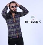 Мужские рубашки длинный рукав RSK-3327