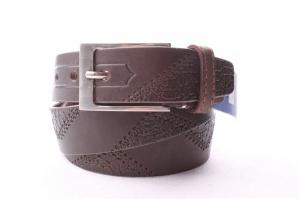 Мужской кожаный ремень 35 мм