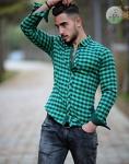 Мужские рубашки длинный рукав 15-25-002