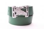 Женский брендовый двухсторонний ремень из полиуритана 40 мм