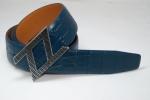 Мужской кожаннй ремень  Zilli 35 мм