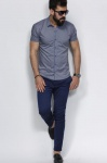 Мужские рубашки короткий рукав 18-06-711