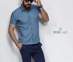 Мужские рубашки короткий рукав 20-06-711