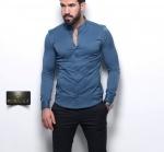 Мужские рубашки длинный рукав 21-61-432