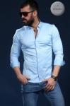 Мужские рубашки длинный рукав 23-07-420