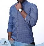 Мужские рубашки длинный рукав 23-19-705