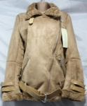 Женская зимняя дубленка 568-2
