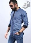 Мужские рубашки длинный рукав 24-25-005