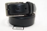 Мужской кожаный ремень -классика 35 мм