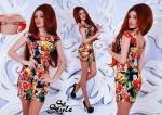 Модное женское платье М247