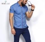 Мужские рубашки короткий рукав 25-06-706