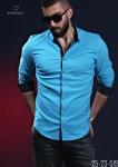 Мужские рубашки длинный рукав 25-23-519