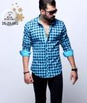 Мужские рубашки длинный рукав 25-25-002