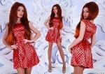 Модное женское платье М251
