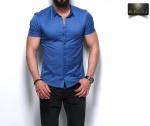 Мужские рубашки короткий рукав 26-07-433