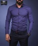 Мужские рубашки длинный рукав 27-01-588