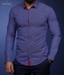 Мужские рубашки длинный рукав 27-01-604