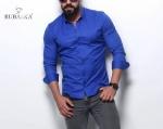 Мужские рубашки длинный рукав 27-07-418