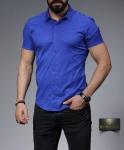 Мужские рубашки короткий рукав 27-07-418