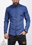 Мужские рубашки длинный рукав 27-37-157