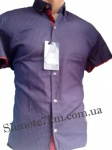 Мужские рубашки короткий рукав - батал Б2772-3