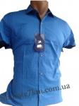 Мужские рубашки короткий рукав - батал Б2777-3