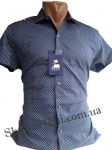 Мужские рубашки короткий рукав - батал Б2777-6