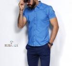 Мужские рубашки короткий рукав 29-06-706
