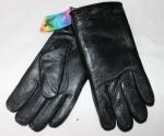 Мужские перчатки кожа/иск.мех 63-2