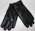 Мужские перчатки кожа/иск.мех 57-6
