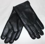 Мужские перчатки кожа/иск.мех 57-4