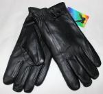Мужские перчатки кожа/иск.мех 57-3