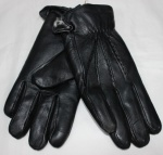 Мужские перчатки кожа/иск.мех 57-2
