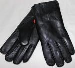 Мужские перчатки кожа/иск.мех 58-6