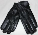 Мужские перчатки кожа/иск.мех 58-3