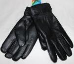 Мужские перчатки кожа/иск.мех 58-1