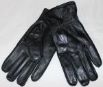 Мужские перчатки кожа/махра 80B-1
