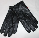 Мужские перчатки кожа/махра 80B-3