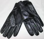 Мужские перчатки кожа/махра 80B-4