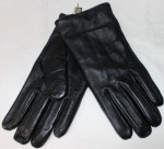 Мужские перчатки кожа/трикотаж 36-2