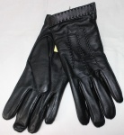 Мужские перчатки кожа/трикотаж 36-3