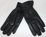 Мужские перчатки кожа оленя/иск.мех 21-10111