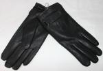 Мужские перчатки кожа оленя/иск.мех 21-10617