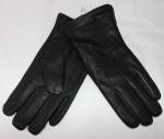 Мужские перчатки кожа оленя/иск.мех 21-1040