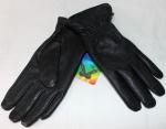 Мужские перчатки кожа оленя/трикотаж 880-1