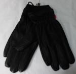 Мужские перчатки кожа оленя/трикотаж 880-6