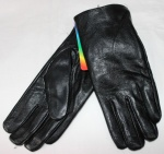 Мужские перчатки кожа/махра 832-2