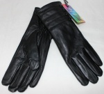 Женские перчатки кожа/махра 83-1