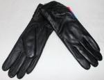 Женские перчатки кожа/махра 83-5